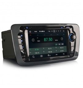 Autoradio GPS Android 10 Seat Ibiza depuis 2008 - 4