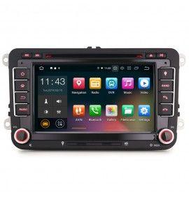 Autoradio GPS Android 10 Volkswagen Golf 5 et 6, Passat, Beetle, Eos Touran , Tiguan, Polo, Caddy et T5 - 1
