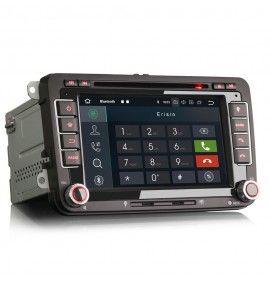 Autoradio GPS Android 10 Volkswagen Golf 5 et 6, Passat, Beetle, Eos Touran , Tiguan, Polo, Caddy et T5 - 2