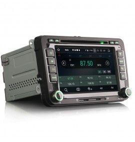Autoradio GPS Android 10 Volkswagen Golf 5 et 6, Passat, Beetle, Eos Touran , Tiguan, Polo, Caddy et T5 - 4