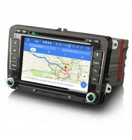Autoradio GPS Android 10 Volkswagen Golf 5 et 6, Passat, Beetle, Eos Touran , Tiguan, Polo, Caddy et T5 - 5