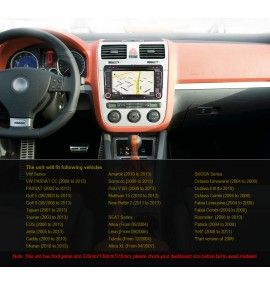 Autoradio GPS Android 10 Volkswagen Golf 5 et 6, Passat, Beetle, Eos Touran , Tiguan, Polo, Caddy et T5 - 6