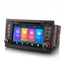 Autoradio GPS Android 10 Audi A4, S4 et RS4 - 1