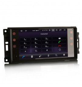 Autoradio Android 10 GPS Bluetooth Jeep, Chrysler & Dodge depuis 2007