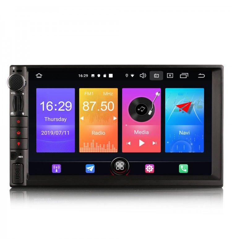 Autoradio Android 10 GPS Bluetooth Universel - 1