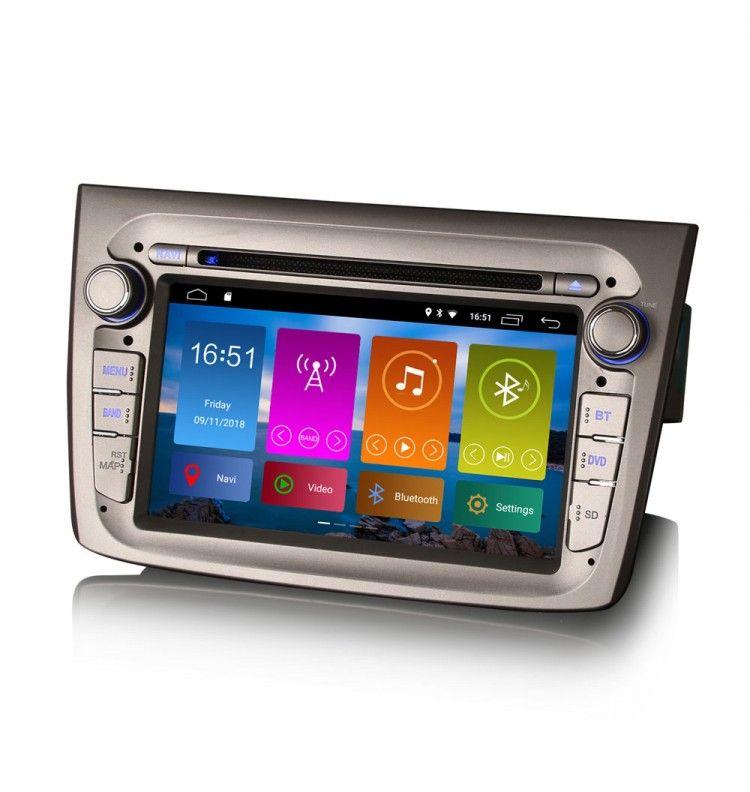 Autoradio GPS Android 10 Alfa Roméo Mito de 2008 à aujourd'hui