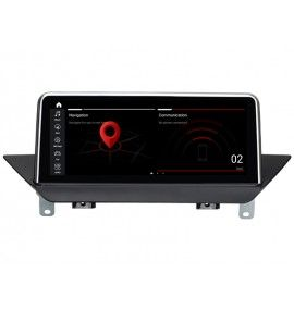 Autoradio GPS Android 10 BMW X1 E84 avec GPS d'origine