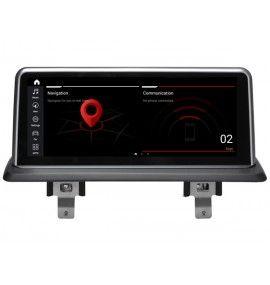Autoradio GPS Android 10 BMW série 1 Sans écran GPS d'origine - 1