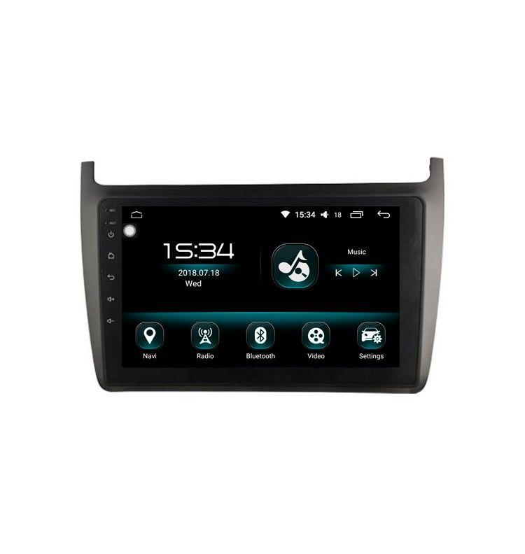 Autoradio GPS Android 11 Carplay & SIM 4G Volkswagen POLO à partir de 2012 - 1
