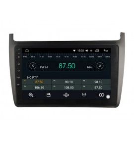 Autoradio GPS Android 11 Carplay & SIM 4G Volkswagen POLO à partir de 2012 - 2