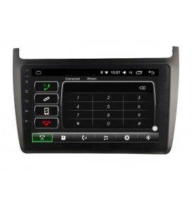 Autoradio GPS Android 11 Carplay & SIM 4G Volkswagen POLO à partir de 2012 - 3