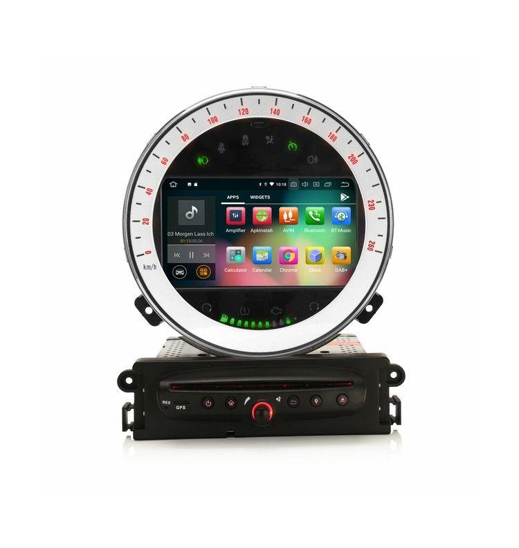 Autoradio GPS Android 10 Mini Cooper de 2006 à 2013