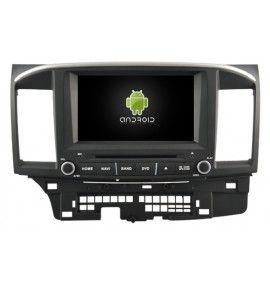 Autoradio android 10 GPS Bluetooth Mitsubishi Lancer de 2007 à 2012
