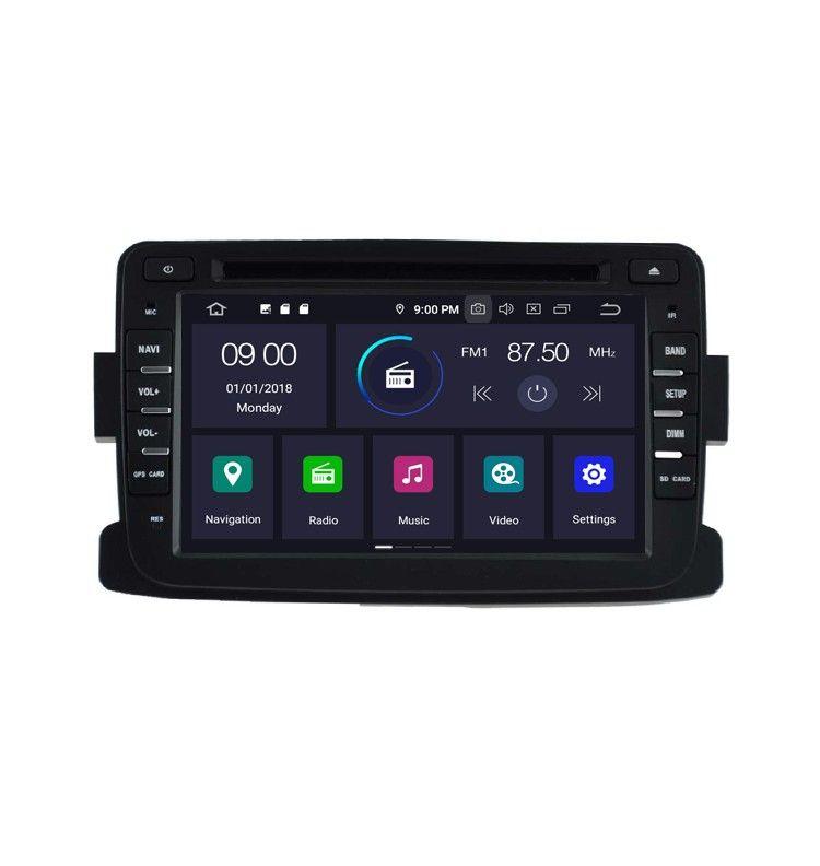 Autoradio GPS Android 9.0 Dacia Duster, Dokker, Lodgy et Sandero