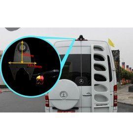 Caméra de recul CCD Fiat Ducato Scudo Strada Fiorino Doble Cargo
