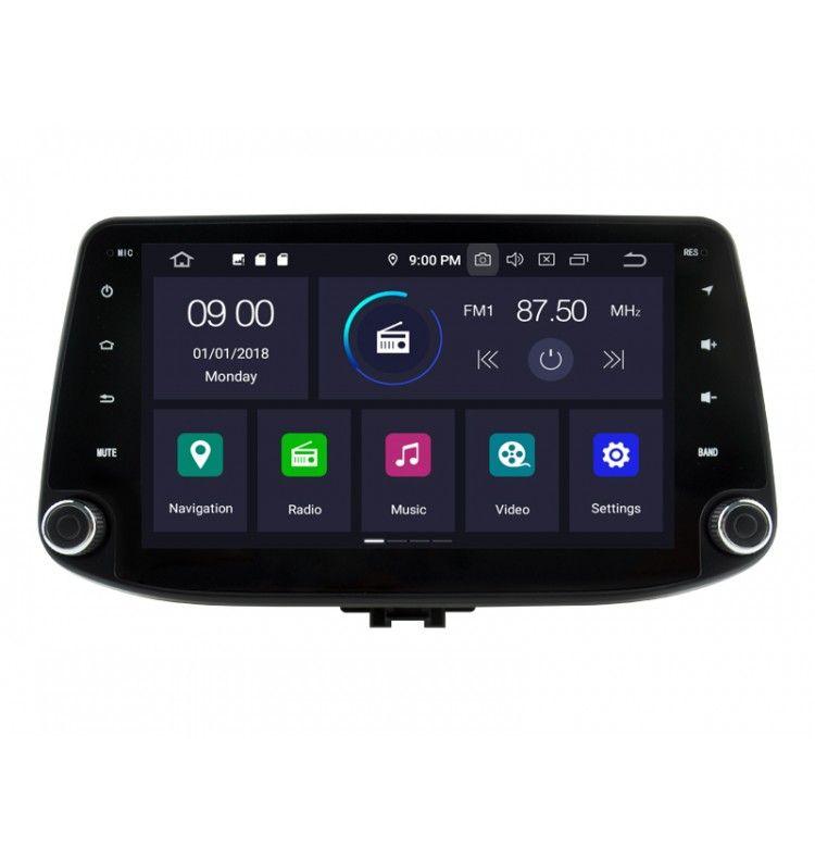 Autoradio GPS Android 10 Hyundai i30 depuis 2018 - 1