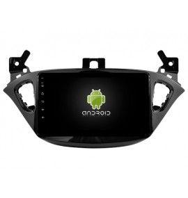 Autoradio GPS Android 10 Bluetooth OPELVauxhall Corsa depuis 2015 - 2
