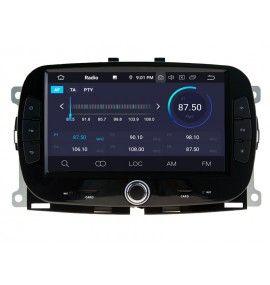 Autoradio GPS Android 10 Fiat 2016 à 2019