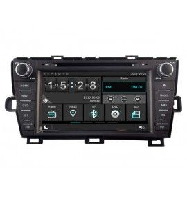Autoradio S80 bluetooth Multimedia Toyota Prius de 2009 à 2013