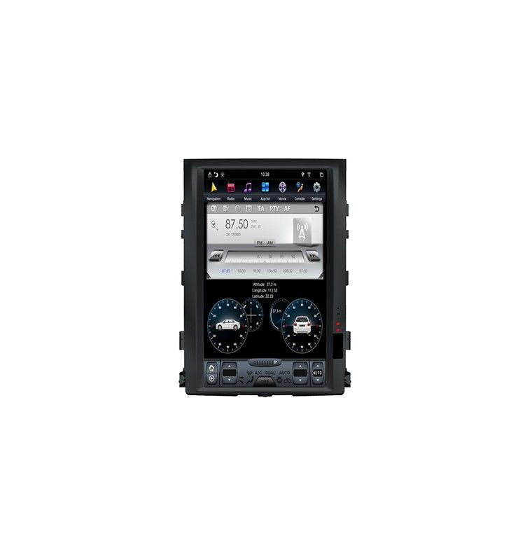"Autoradio 16"" ANDROID Toyota Land Cruiser GX VX de 2007 à 2015 sans GPS d'origine"