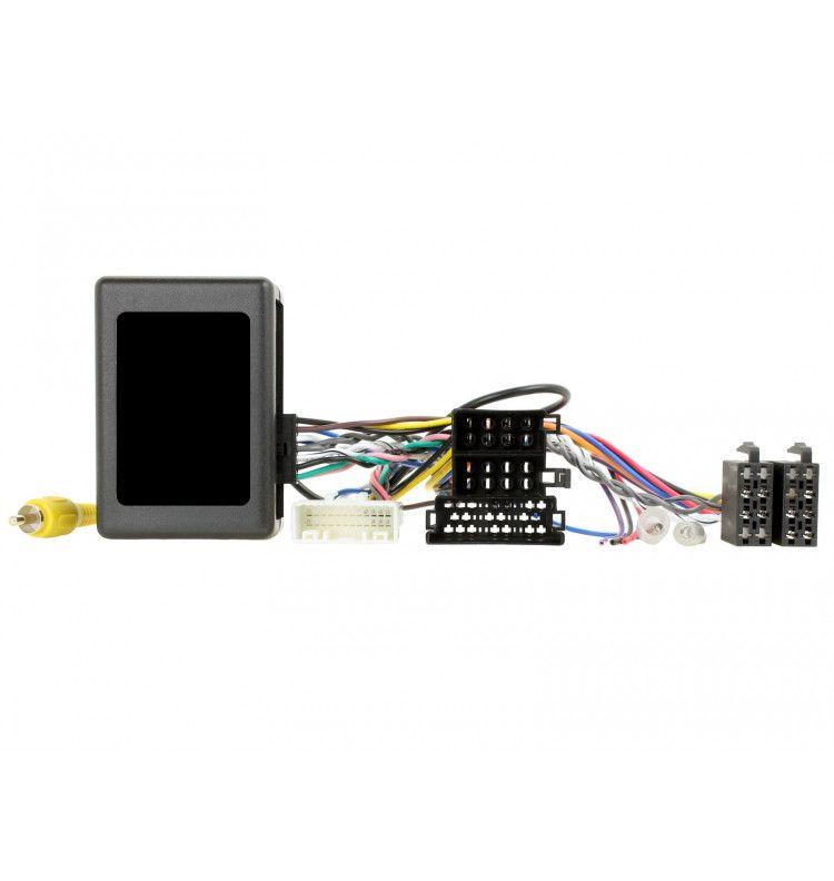 Interface Adapataeur commande volant, caméra de recul et amplificateur Kia Sportage et Hyundai IX35