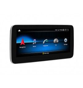 Autoradio G Android 10 GPS Bluetooth Mercedes Classe A CLA GLA de 2013 à 2019 - 2