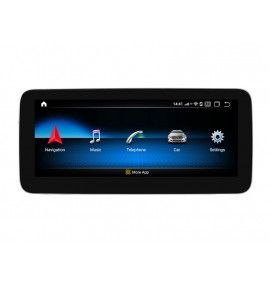 Autoradio G Android 10 GPS Bluetooth Mercedes Classe A CLA GLA de 2013 à 2019 - 9