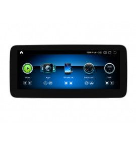 Autoradio G Android 10 GPS Bluetooth Mercedes Classe A CLA GLA de 2013 à 2019 - 10