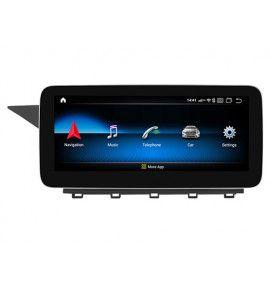 Autoradio Android 10 GPS Bluetooth Multimédia intégré Mercedes Classe C W204 et S204 de 2010 à 2014