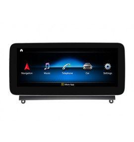 Autoradio G Android 10 GPS Bluetooth Multimédia intégré Mercedes Classe C W204 de 2007 à 2011