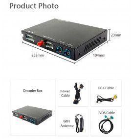 Interface Carplay & Android Auto + caméra BMW de 2010 à 2017 - 5
