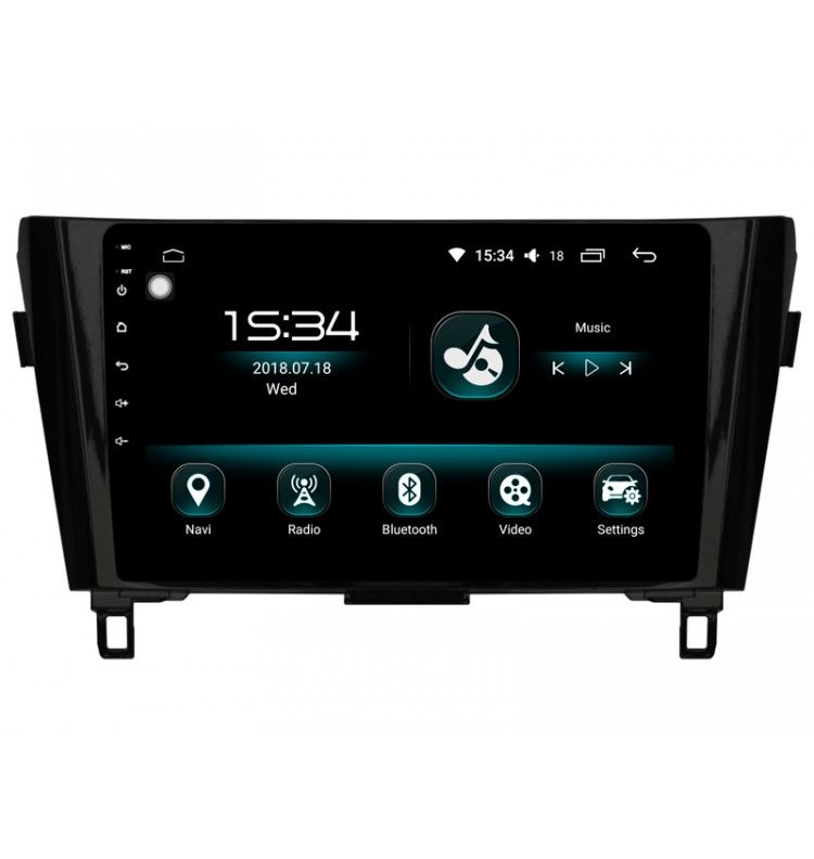 "Autoradio écran 10.2"" GPS B Android 10 Nissan Qashqai et X-Trail depuis 2014"
