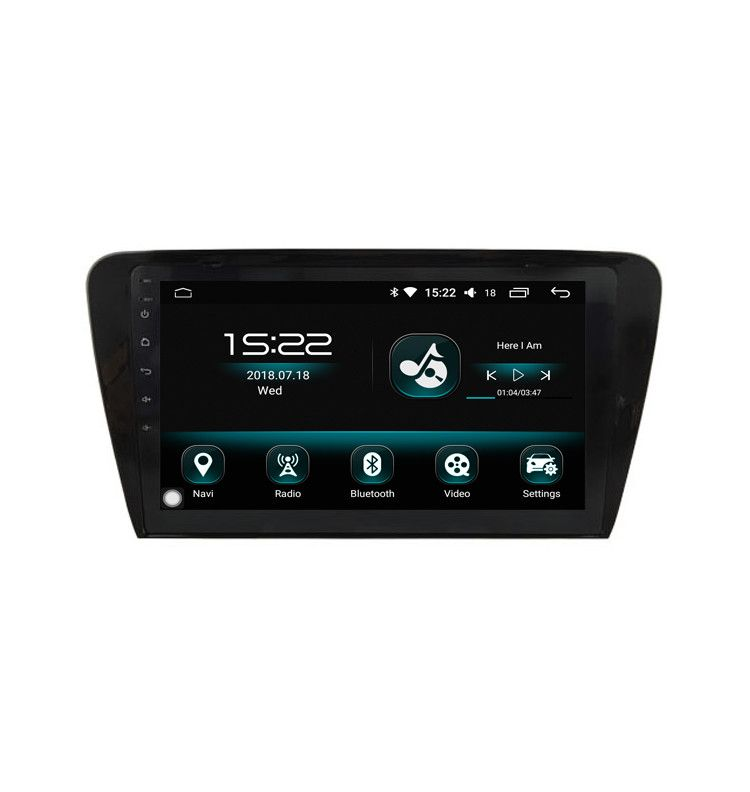 """Autoradio 10.2""""GPS ANDROID 10 intégré Skoda Octavia depuis 2013"""