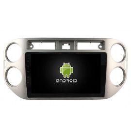 "Autoradio écran 9"" GPS Android 10 Volkswagen TIGUAN 2010 à 2015"