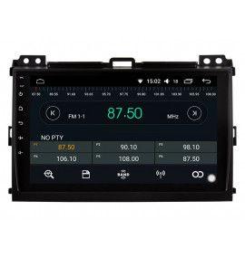 Autoradio ANDROID 10 GPS Toyota Land Cruiser / Prado 120 de 2002 à 2009