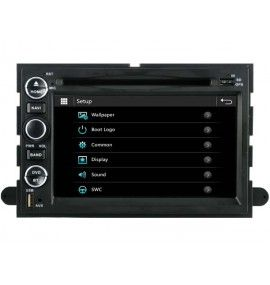 Autoradio S80 GPS Bluetooth Multimédia intégré Ford Mustang, Fusion, Explorer, F150, Focus, Edge