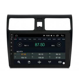 Autoradio Android 10 GPS Bluetooth intégré Suzuki Swift de 2004 à 2010
