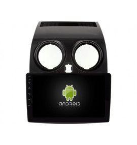 """Autoradio écran 9"""" GPS Android 10 Nissan Qashqai 2007 à 2014"""