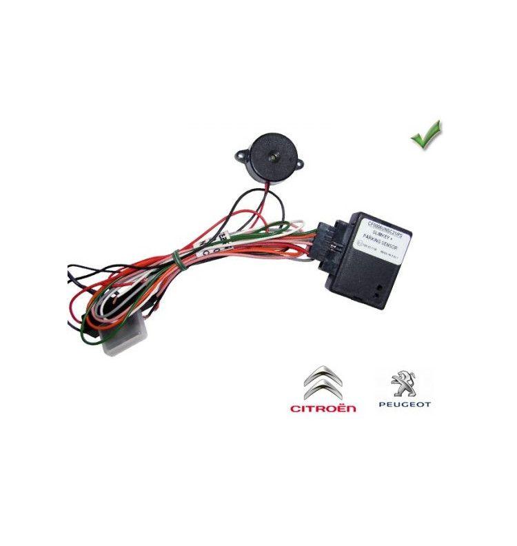 Récupération radars avant et arrière Peugeot Citroen avec ou sans ampli - 1