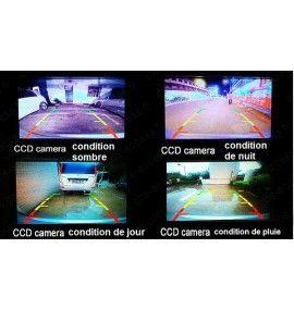 Caméra de recul CCD Universelle adaptable, 2 CM - 6