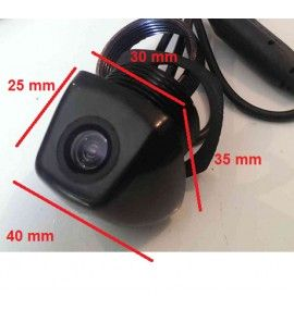 Caméra de recul CCD universelle adaptable.