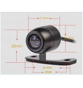 Caméra de recul CCD Universelle adaptable, 2 CM - 1