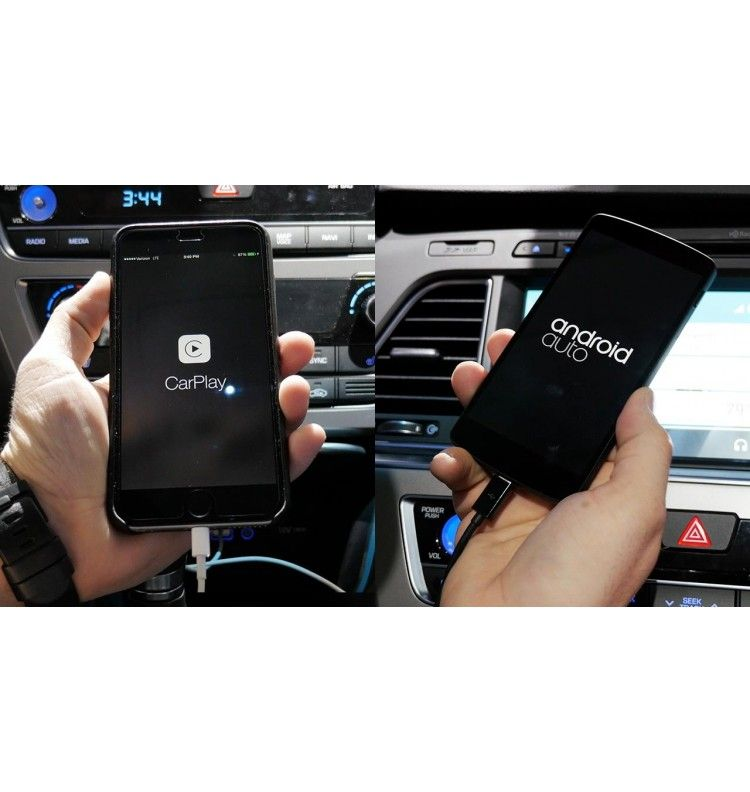 iphone apple car play android auto pour autoradio dongle usb ebay. Black Bedroom Furniture Sets. Home Design Ideas