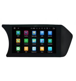 Autoradio Android 7.1 GPS Bluetooth Multimédia intégré Mercedes Classe C W204 de 2012 à 2013