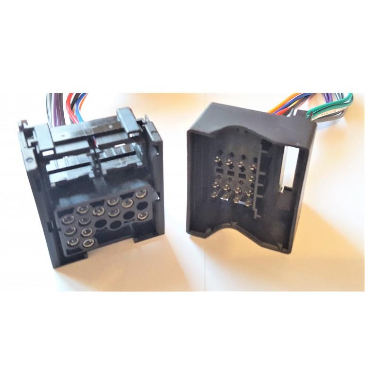 adaptateur convertisseur 17 pin vers 40 pin bmw s rie 3 e46 x5 e53 et 5 e39 gps access. Black Bedroom Furniture Sets. Home Design Ideas