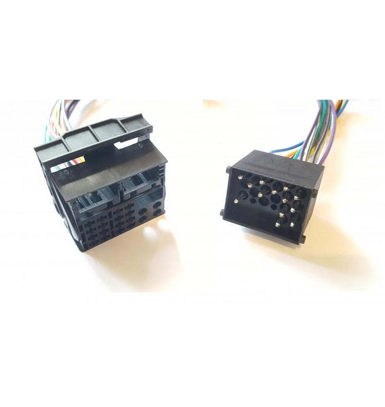 adaptateur convertisseur 40 pin vers 17 pin bmw s rie 3 e46 x5 e53 et 5 e39 gps access. Black Bedroom Furniture Sets. Home Design Ideas